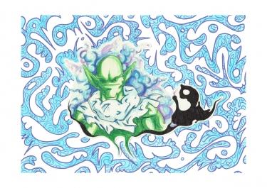 Stumped Namekian - The Cloudhatched Beginning - Bono Mourits