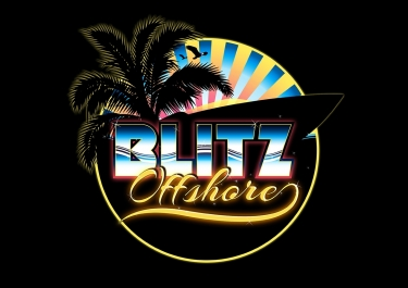 BLITZ Offshore Logo with Ornament