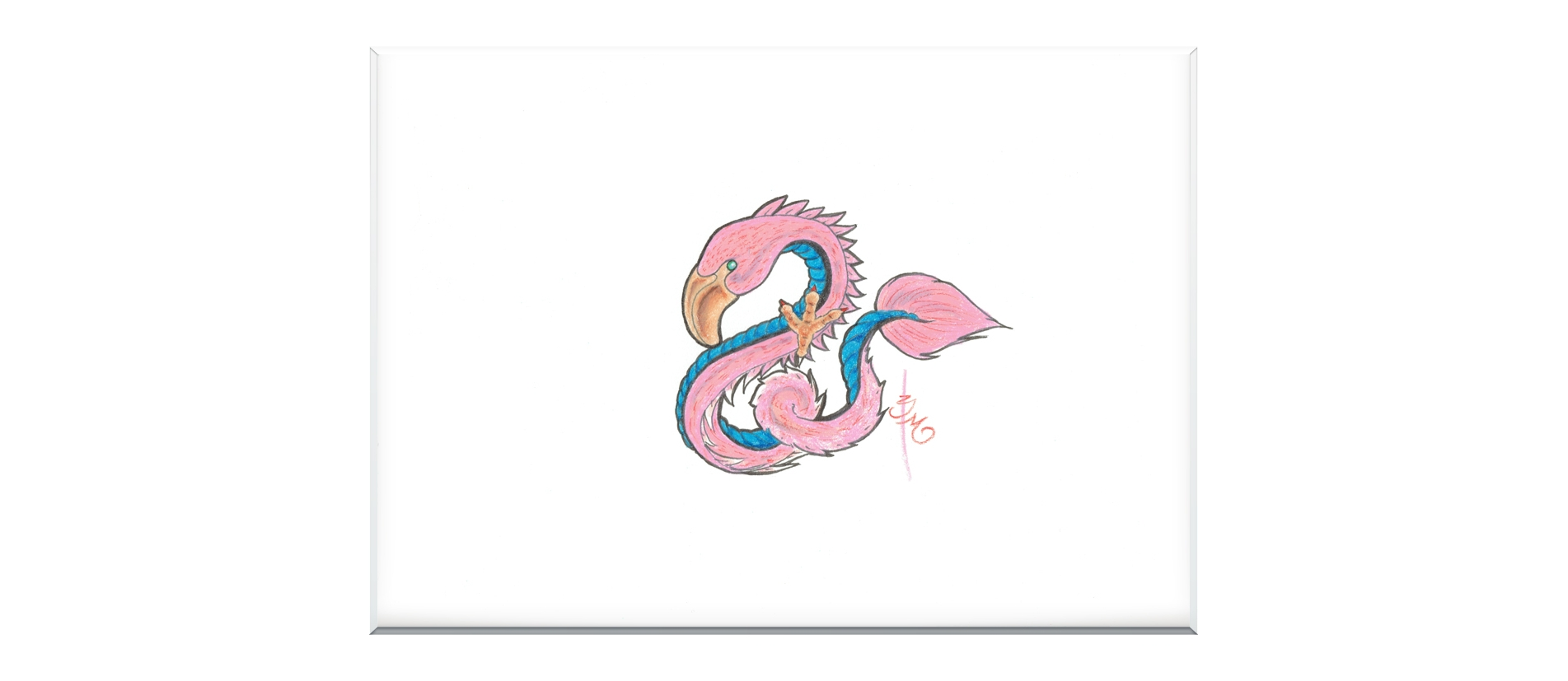 Dragon Flamingo - Twilight Zone - Bono Mourits