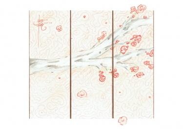 Red Sakura - The Cloudhatched Beginning - Bono Mourits