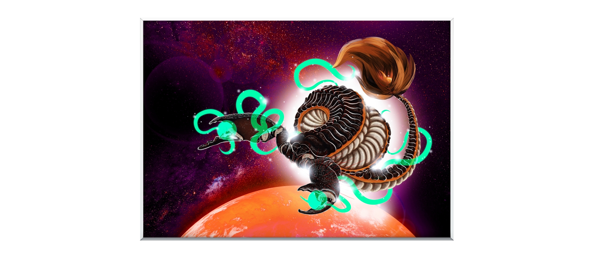 Scorpion Dragon - Zodiac - Bono Mourits