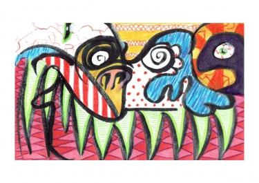 Modern Art Monster - Returning Home - Bono Mourits