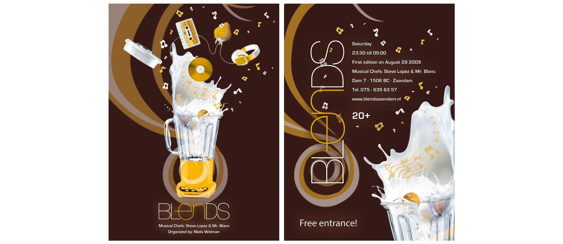 Blends Flyer: Front & Back