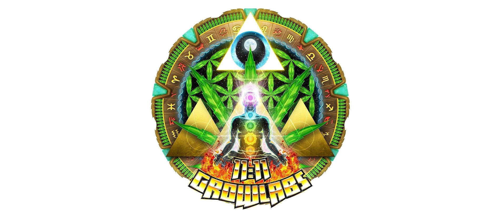 11:11 Growlabs Logo
